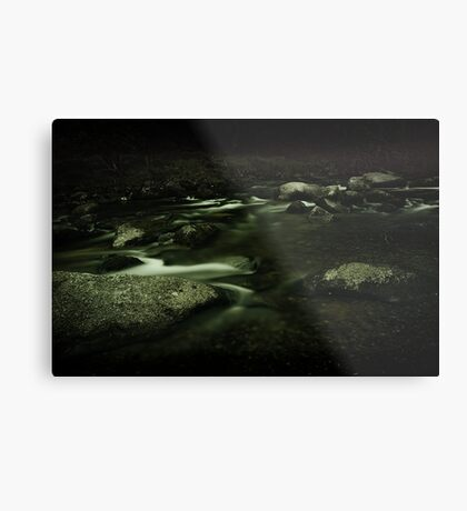 Slow Motion Metal Print