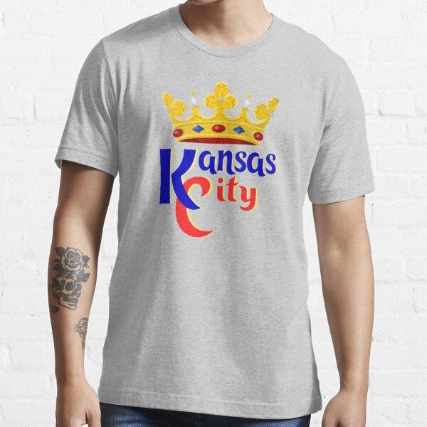 Kansas City KC Hybrid Baseball Football Fan Gift Design Essential T-Shirt