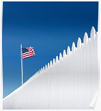 Our White Picket Fence. Poster