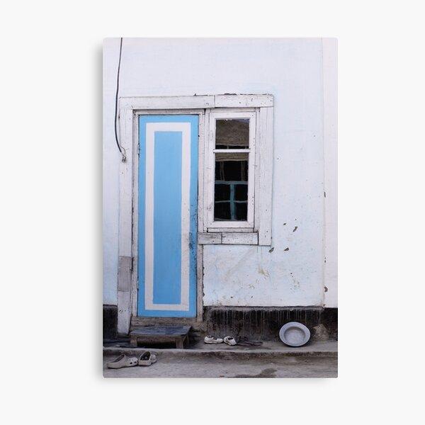 Narrow door, narrow window Canvas Print