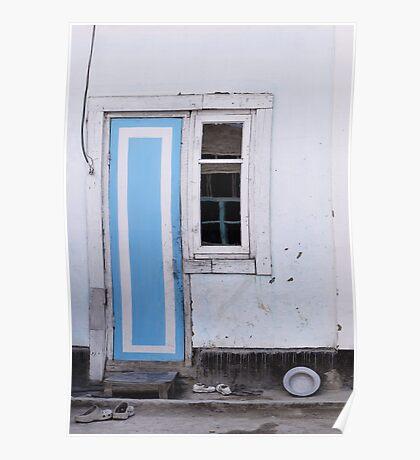 Narrow door, narrow window Poster