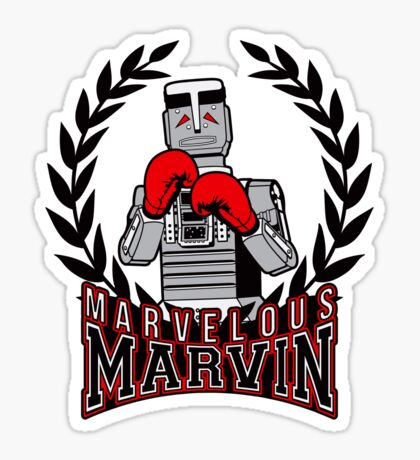 Marvelous Marvin Sticker