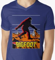 Bigfoot Men's V-Neck T-Shirt