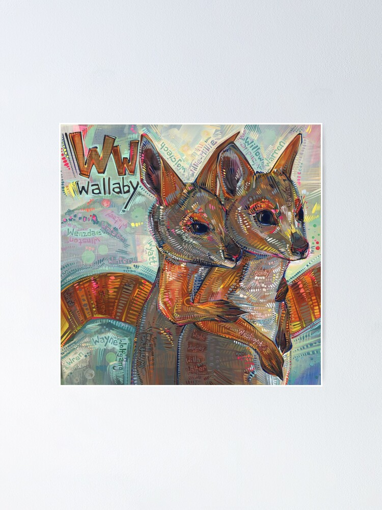 Alternate view of W Is for Wallaby - 2020 Poster