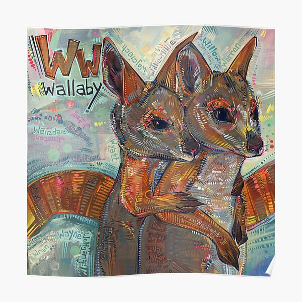 W Is for Wallaby - 2020 Poster