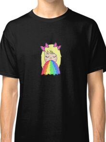 Rainbow Barf Classic T-Shirt