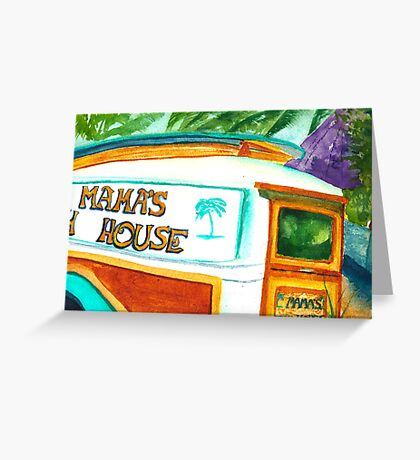 Mama's Fish House Greeting Card