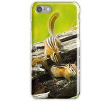 Chipmunks playing iPhone Case/Skin