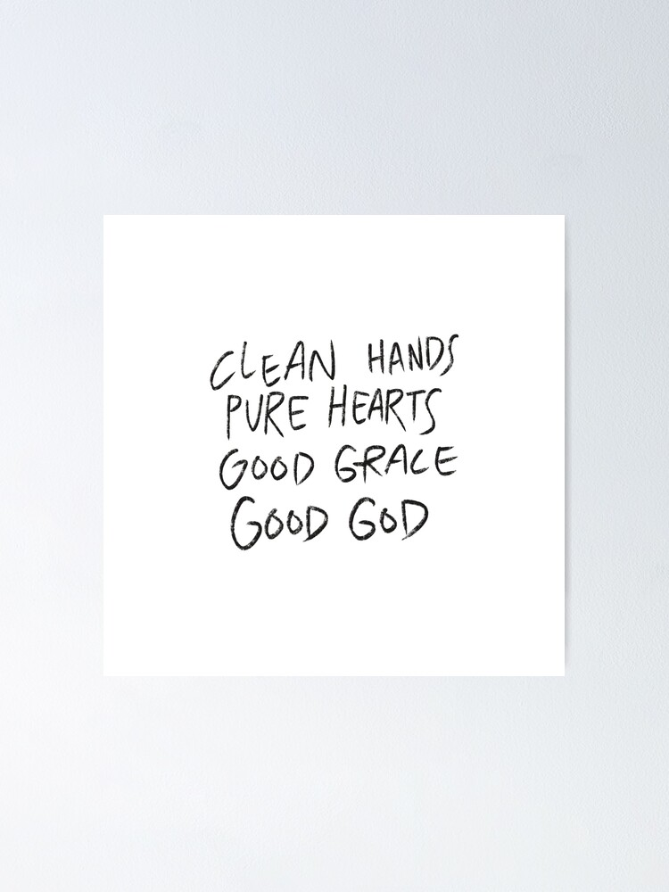 Good Grace Lyrics Poster By Emshelton22 Redbubble Ver todos los productos y recursos disponibles para view all products & resources good grace por hillsong united. redbubble