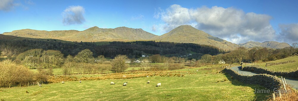 The Coniston Fells  by Jamie  Green