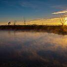 Fire in the sky by Rudi Venter