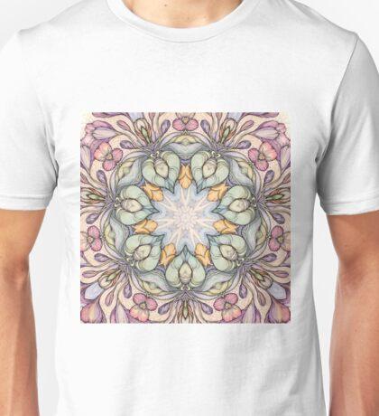 Vintage floral  pattern T-Shirt