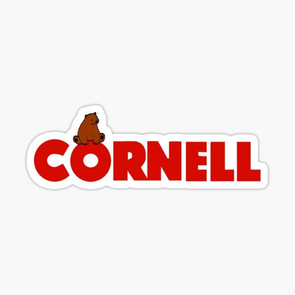 Cornell University Bear Sticker
