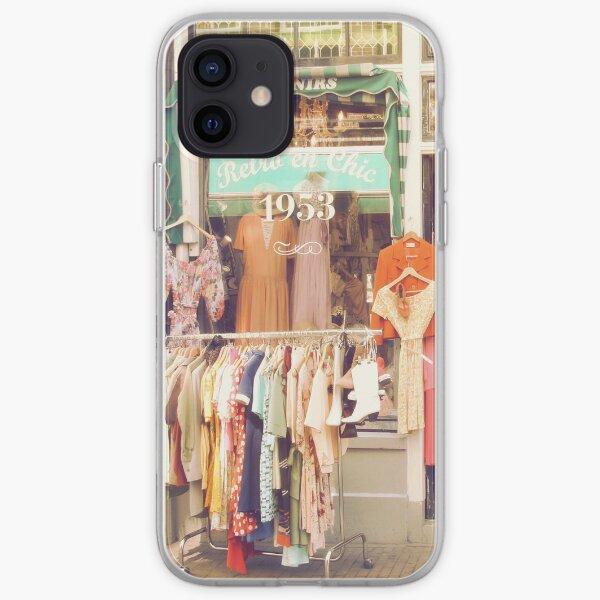 Vintage Fashion Shop iPhone Soft Case
