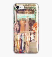 Vintage Fashion Shop iPhone Case/Skin