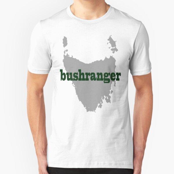 Bushranger - Map of Tassie Slim Fit T-Shirt