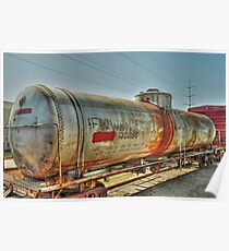 The Tank Car  Grapevine TX  Poster