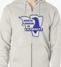 North London is Lilywhite Zipped Hoodie