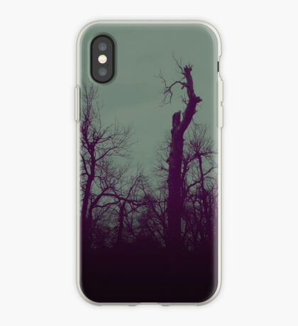 DarkTrees iphone iPhone Case