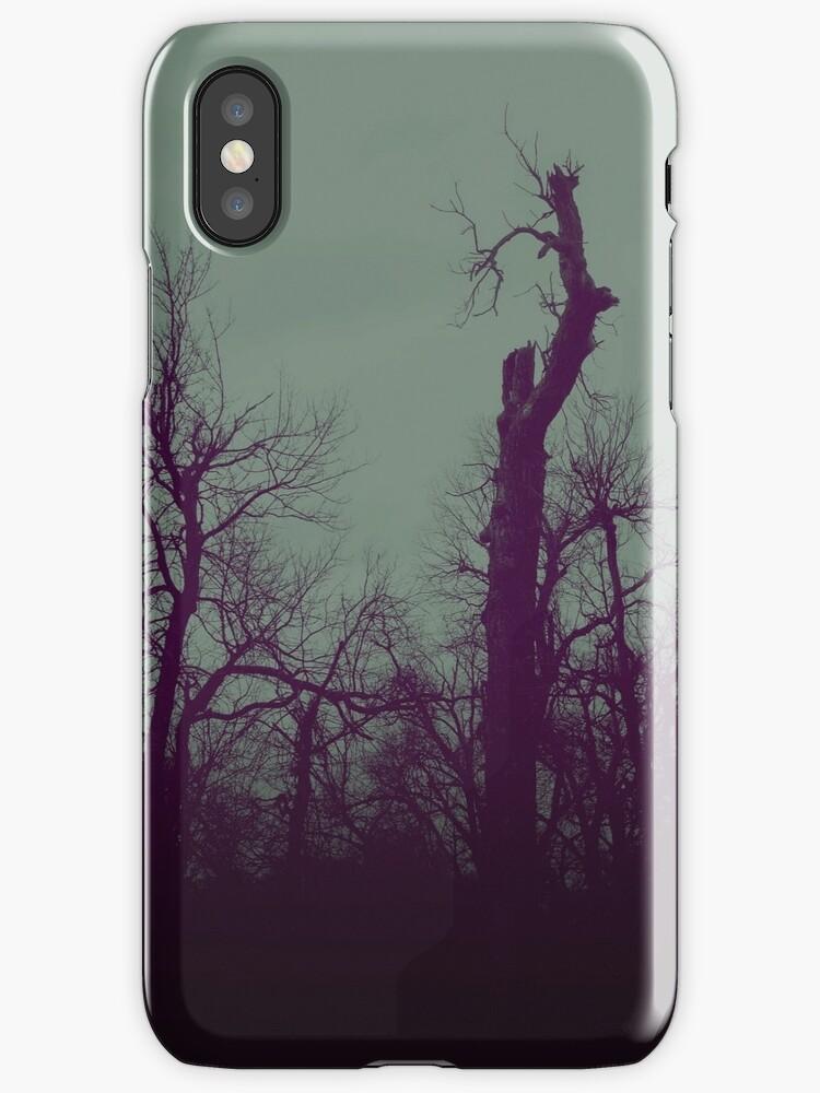 DarkTrees iphone by Margaret Bryant