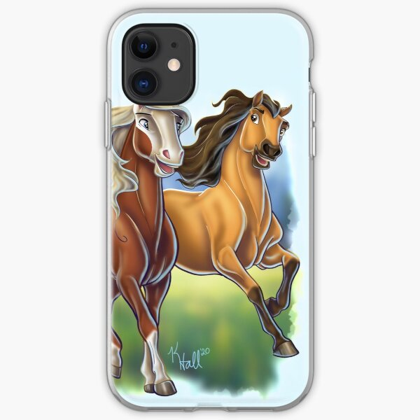 Spirit and Rain iPhone Soft Case