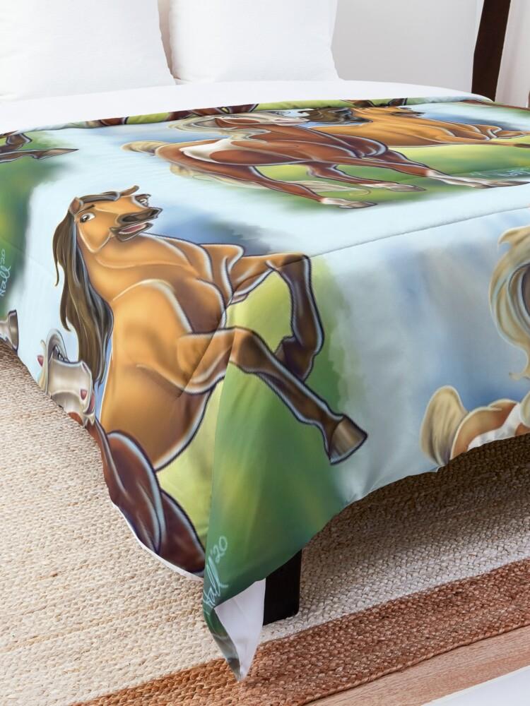Alternate view of Spirit and Rain Comforter