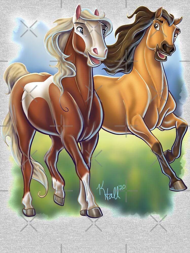 Spirit and Rain by Unicornarama