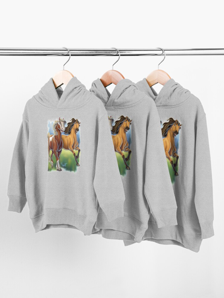 Alternate view of Spirit and Rain Toddler Pullover Hoodie