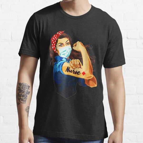 Strong Nurse Rosie Riveter  Essential T-Shirt