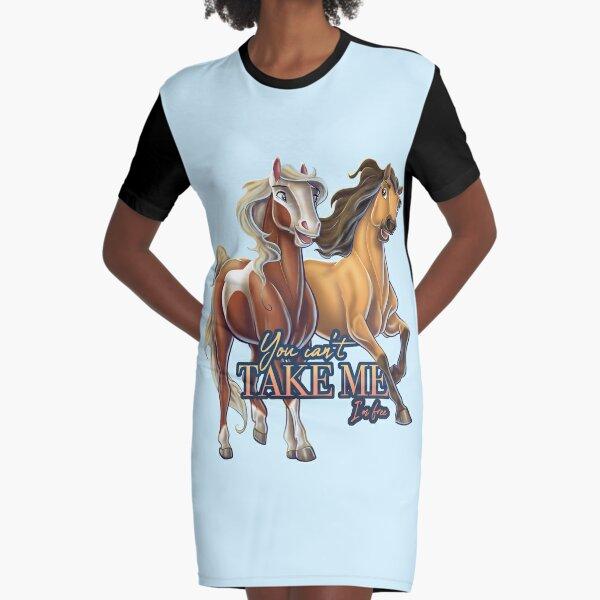 Spirit - You Can't Take Me Graphic T-Shirt Dress