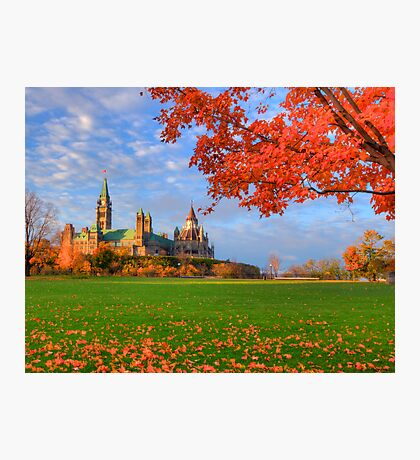 Colours of Canada Photographic Print