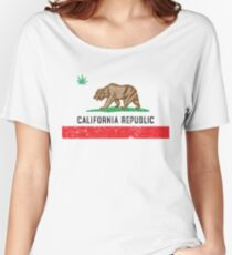 Vintage California Cannabis Women's Relaxed Fit T-Shirt