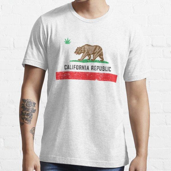 Vintage California Cannabis Essential T-Shirt