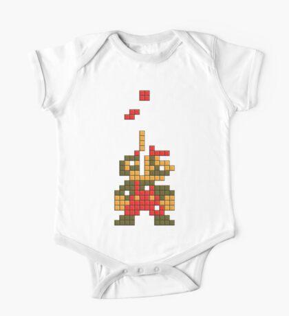 Super Mario Pixel  Kids Clothes