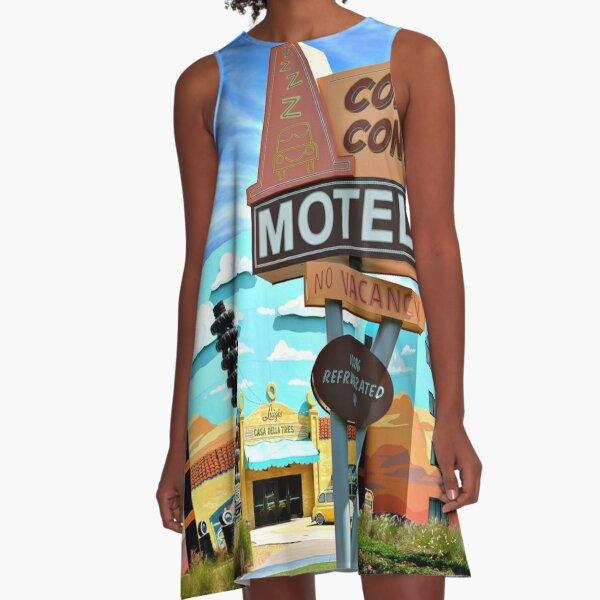 Cozy Cone Motel A-Line Dress