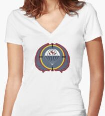 MW3 GIGN Women's Fitted V-Neck T-Shirt