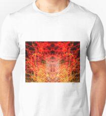 Lightpainting Abstract Symmetry UFA Prints #10 Unisex T-Shirt