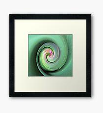 Twirled Tulip Framed Print