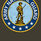 Army National Guard Vintage by Tasty Clothing