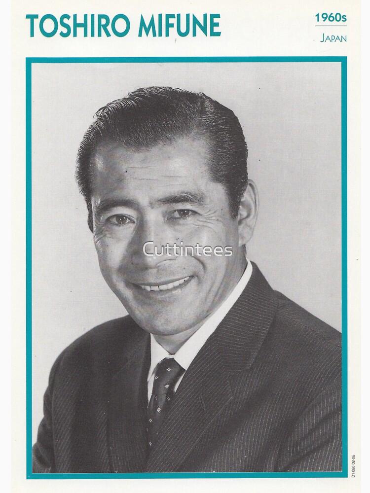 Toshiro Mifune, Japanese Treasure by Cuttintees