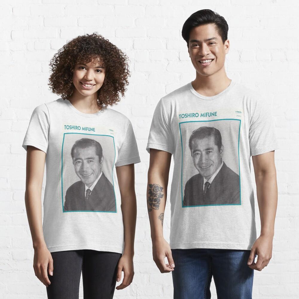 Toshiro Mifune, Japanese Treasure Essential T-Shirt