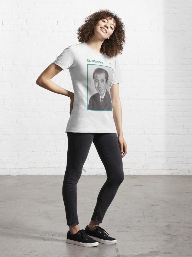 Alternate view of Toshiro Mifune, Japanese Treasure Essential T-Shirt