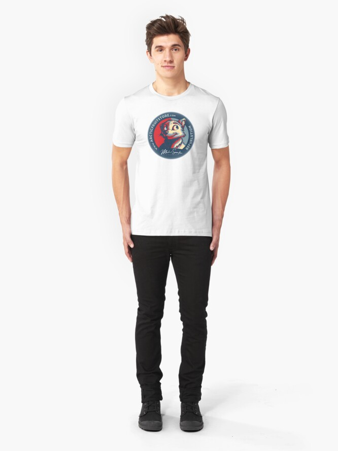 Alternate view of REFURLUTION Slim Fit T-Shirt
