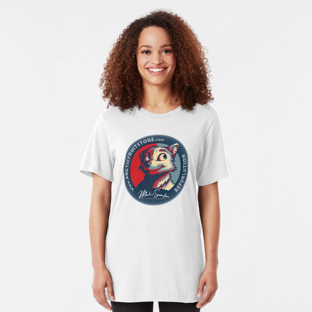 REFURLUTION Slim Fit T-Shirt