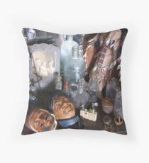 Collectables Throw Pillow