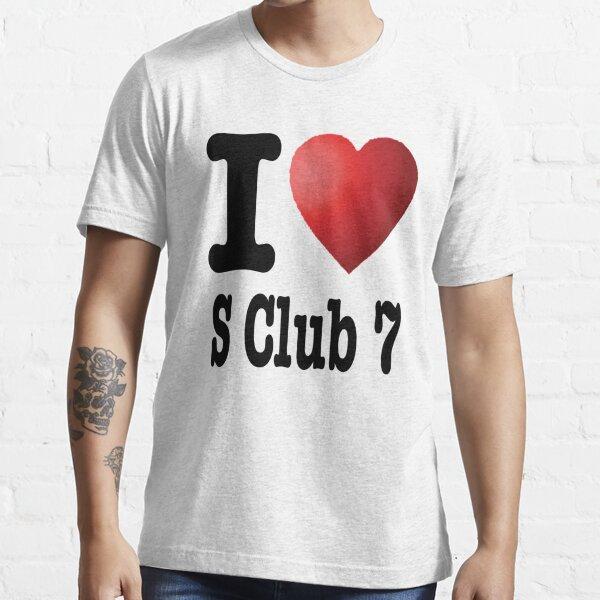 I Heart S Club 7 Essential T-Shirt