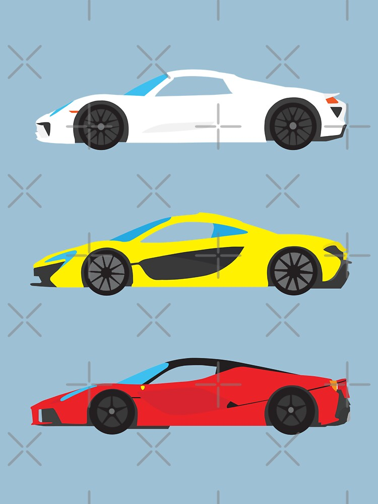 "Modern European Dream Cars ""The Trinity"" by vertei"