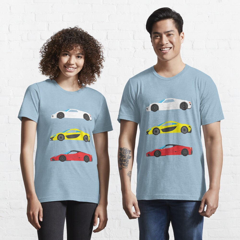 "Modern European Dream Cars ""The Trinity"" Essential T-Shirt"