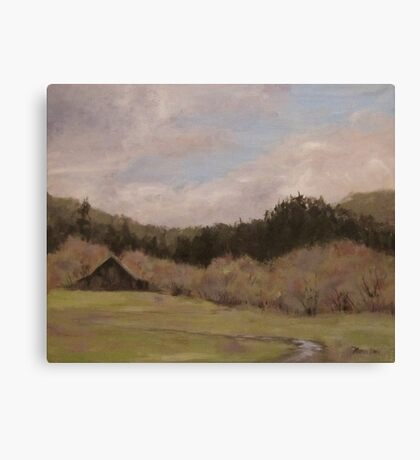 Waiting on Spring Canvas Print