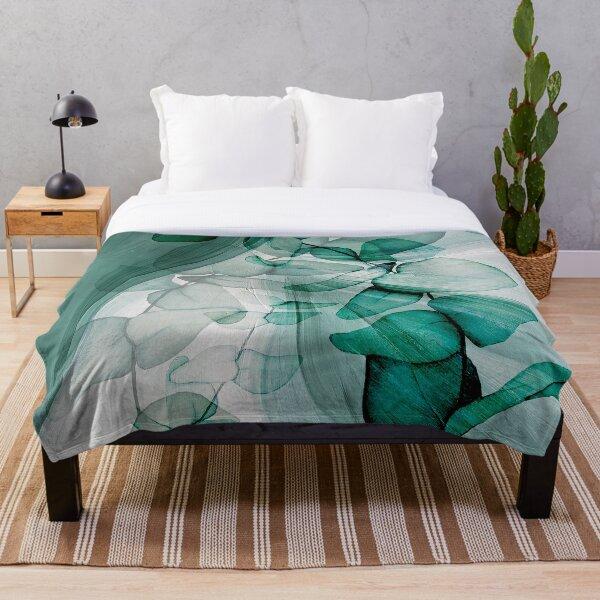 Ethereal Eucalyptus Throw Blanket